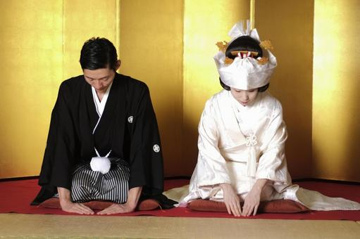 Kimono's bride and groom 52