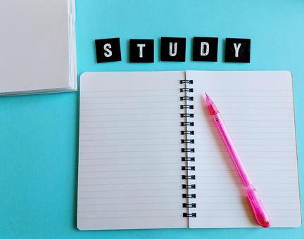 STUDY 문자 소재