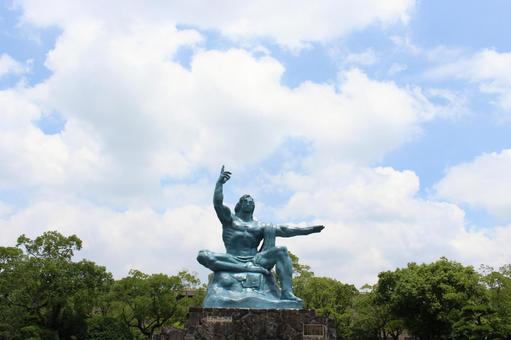 Peace Memorial Statue Nagasaki City, Nagasaki Prefecture 014
