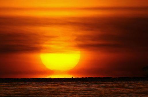 Daruma sunset