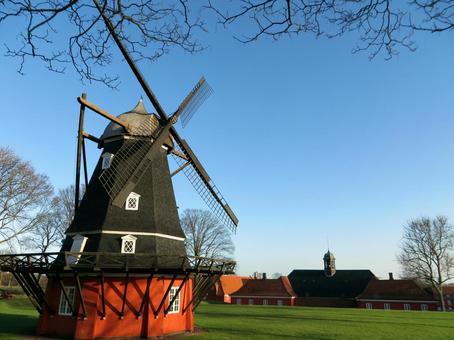 丹麦的风车