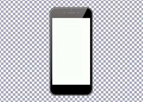 Smartphone-Mock PSD file for easy compositing
