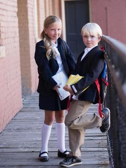 外国男孩和女孩4