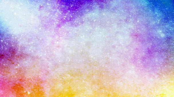 Colorful light background texture inspired by a fantasy starry sky