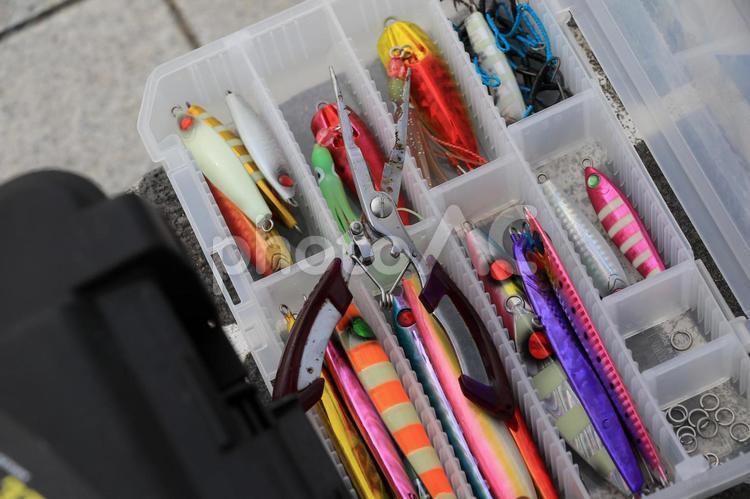 釣り道具・メタルジグの写真