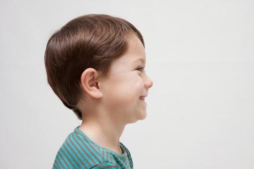 Boy's profile 1