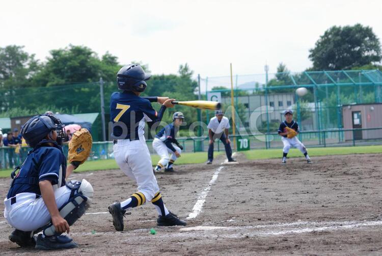 少年野球の写真