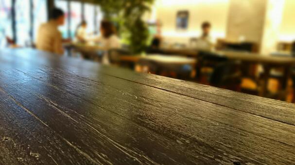 카페에서 휴식 사람들