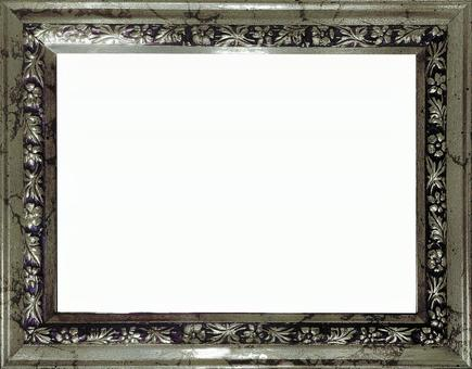 Antique style silver color Frame side (with clipping pass)