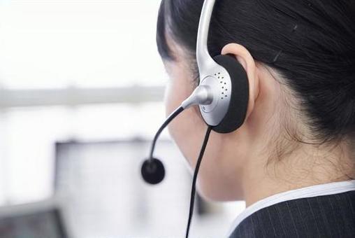 사무실로 문의에 대한 답변 일본인 여성 사업가