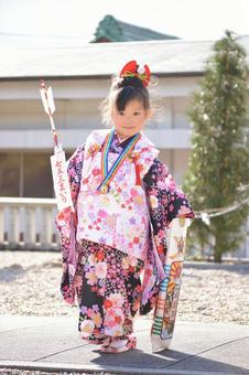 Shichigosan Girl 3 years old