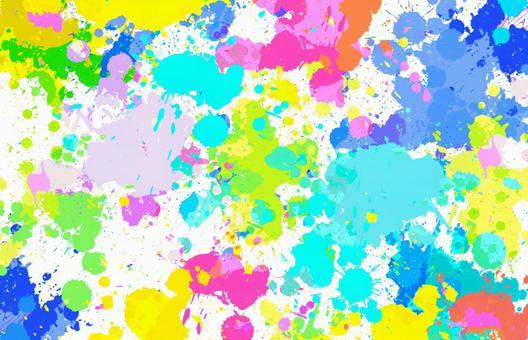 산산조각 다채로운 페인트 스플래시 이미지 4