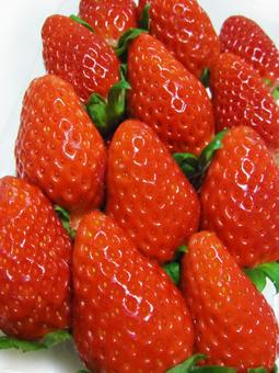 Strawberries that look delicious