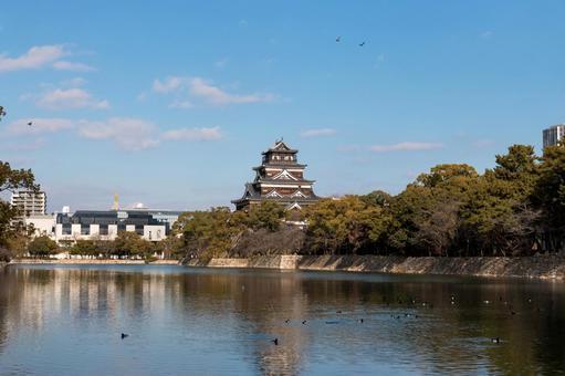 Hiroshima Castle 【Wide Angle】