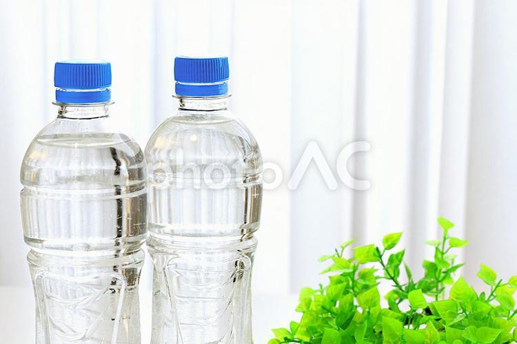 ペットボトル 水の写真
