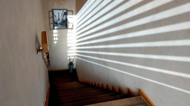 Stairs and light 6