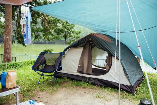 Rainy season camp