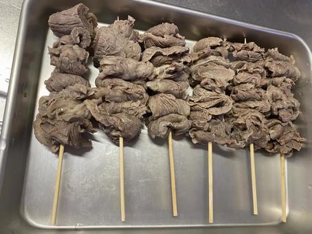 오뎅 용 쇠고기 힘줄 꼬치
