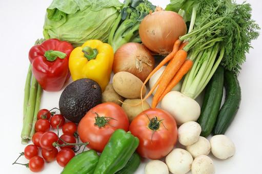 Variety of vegetables 6