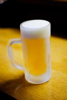 Cool dog mug draft beer