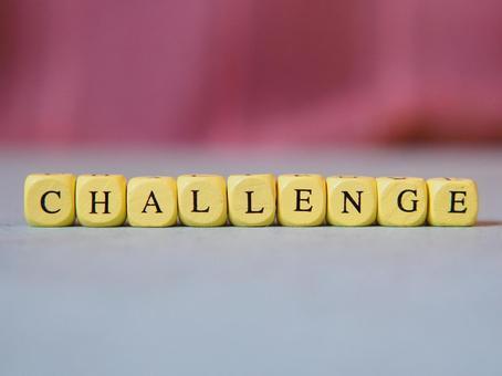 CHALLENGE (도전) 문자 소재