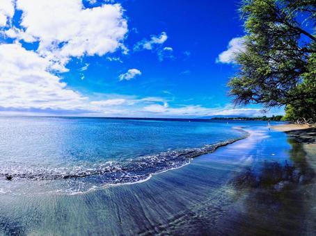 얕은 해변