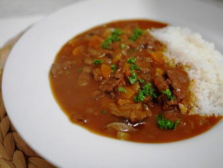 Hayashi rice 1
