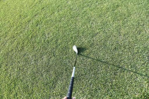 Grass and club 4