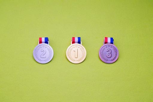 Medal ranking material