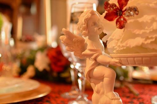 Angel's sculpture