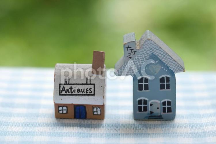 ミニチュアハウスの写真