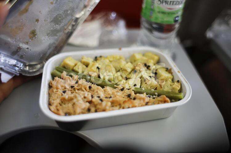 機内食イメージの写真