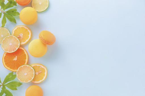 Citrus color frame