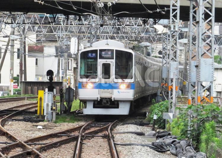 小田急線の写真
