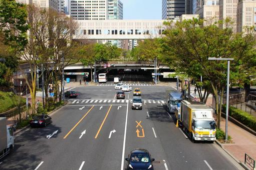 Urban boulevard