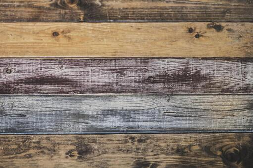 Fashionable wood grain board_background material