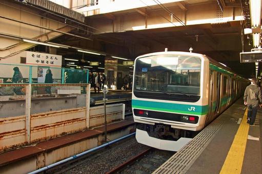 "Nippori, Yanaka, Ueno Tokyo downtown battle walk ""Ueno Station 11 Line Home / Joban Line"""