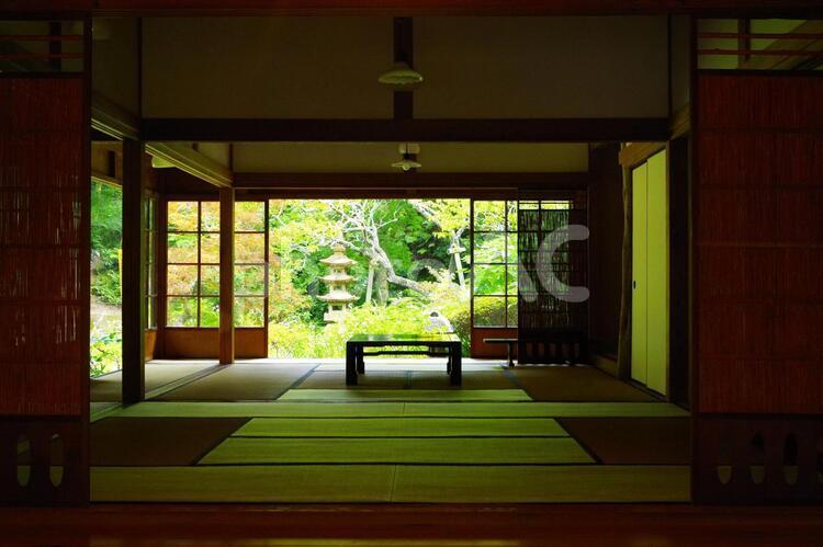 寺の和室の写真