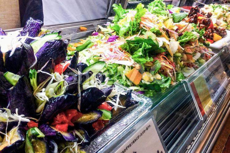 デパ地下のお惣菜の写真