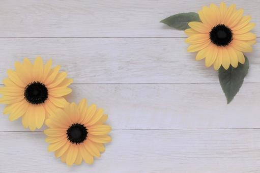Sunflower sunflower frame summer flower sunflower background