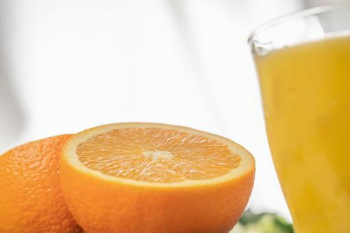 橘子和飲料