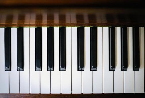 木紋鋼琴鍵盤