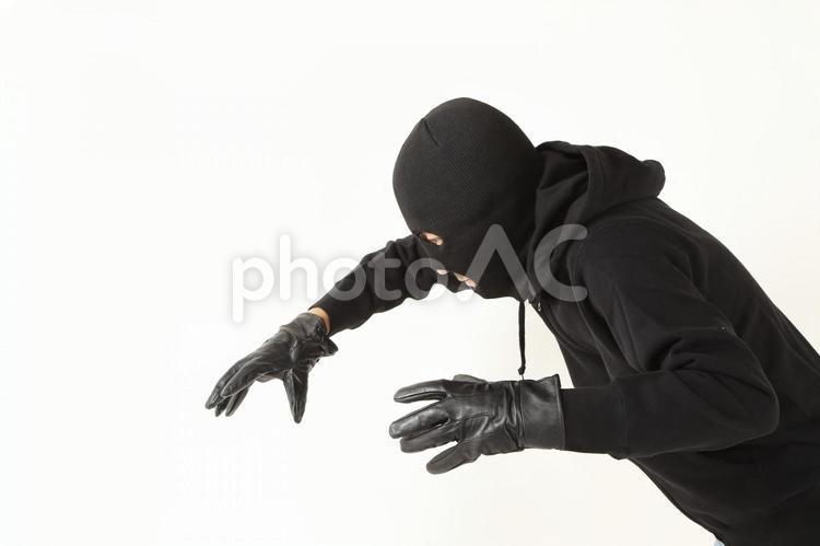 覆面の男性6の写真