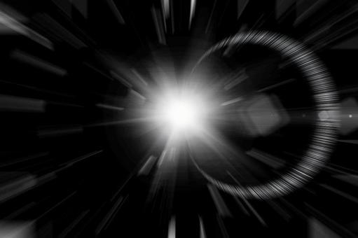 Warp solar flare flash