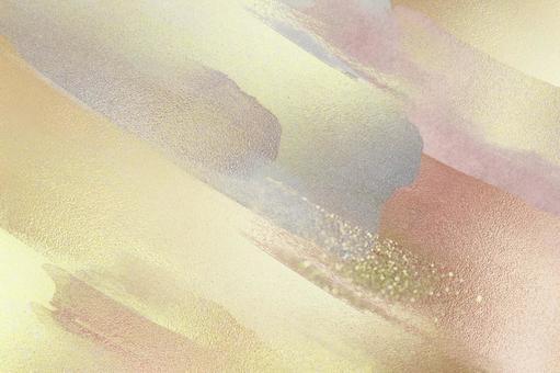 Background Texture Gold Glitter Glitter Stroke Ink Paint Brush Frame Art New Year New Year Christmas