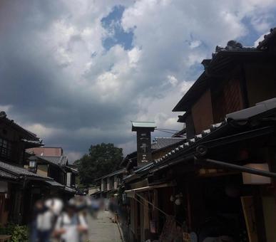 在京都的老民居
