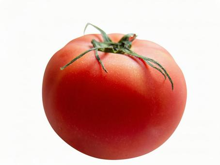Chilled tomato white background background transparent psd