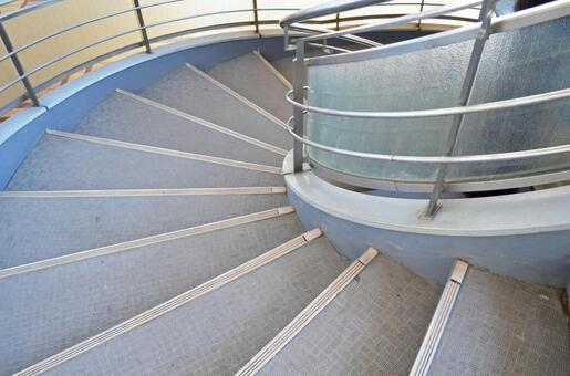 Image of a spiral staircase