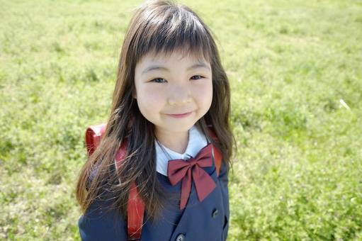 Elementary school girl 37
