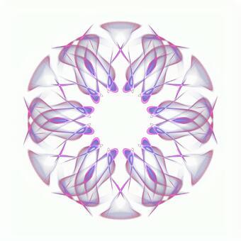 Fantasy hexagonal PSD background through 20201006_002